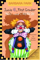 Junie B., First Grader: Boo...and I MEAN it! (A Stepping Stone Book)