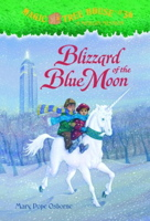 Blizzard of the Blue Moon with Sticker (Magic Tree House #36)