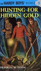 Hardy Boys #5 Hunting for Hidden Gold
