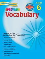 Spectrum Vocabulary, Grade 6 (Spectrum)