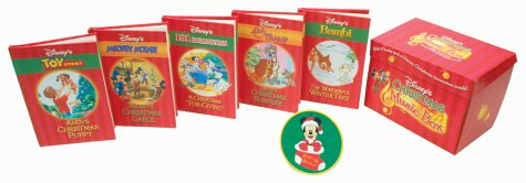 Disney's Christmas Music Box : With 5 Books and a Disney Christmas Decoration Inside!