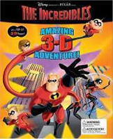 The Incredibles Amazing 3-D Adventure!