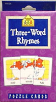 Three-Word Rhymes: Puzzle Cards
