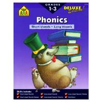Short & Long Vowels 1-3 (Phonics Deluxe)
