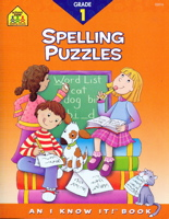 Spelling Puzzles/Grade One (I Know It! Books)