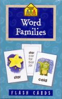 Word Families, Flash Cards