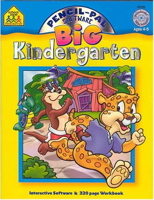 Kindergarten (Big Pancil-Pal Software & Workbooks)