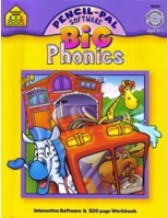Phonics  (Big Pancil-Pal Software & Workbooks)