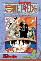 One Piece, Volume 4: The Black Cat Pirates