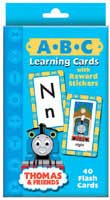 Thomas Tank Engine Learning Cards ABC With Stickers