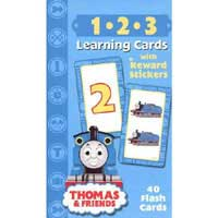 Thomas Tank Engine Learning Cards 123 With Stickers (Thomas & Friends Learning Cards)