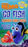 Go Fish: Disney Nemo Game Cards With Stickers