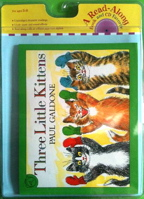Three Little Kittens Book & CD (Read Along Book & CD)