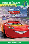 World of Reading Cars 3-In-1: 3 Tales of Adventure with CD! [With Audio CD]