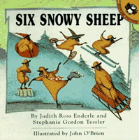 Six Snowy Sheep (Picture Puffins)